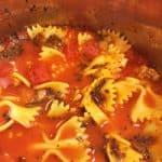 Instant Pot Mini Lasagna Soup Recipe