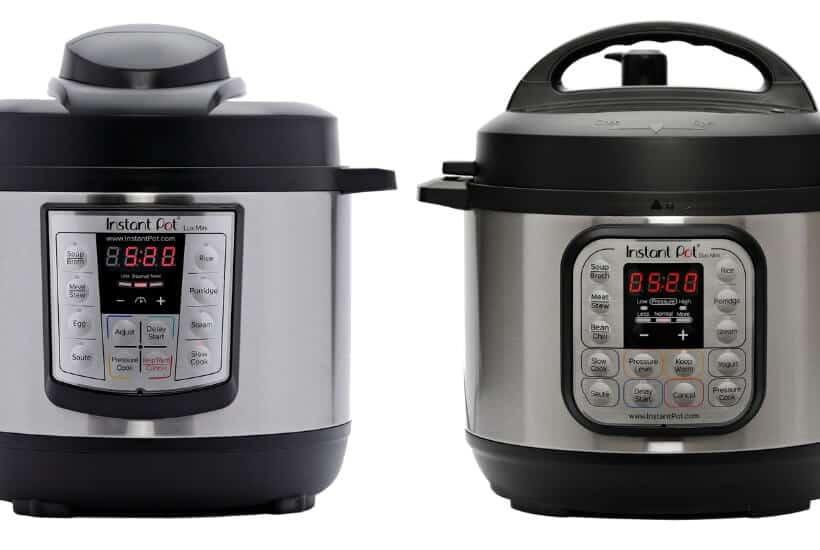 Instant Pot Mini Duo vs Lux