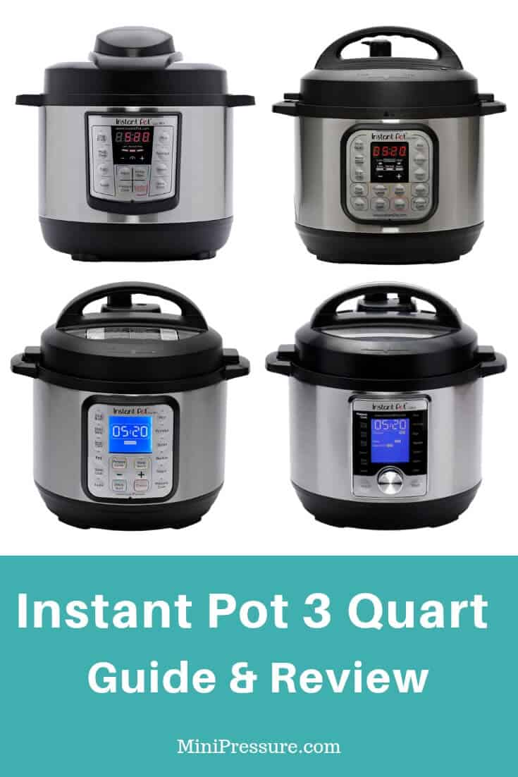 Comparing the Instant Pot 3 models Side By Side Guide. And my review of the two I own.