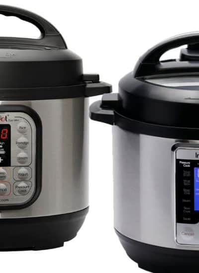 Instant Pot Mini Duo vs Ultra Side By Side